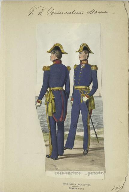 Ober Oficiere [en] parade