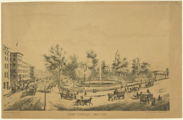 Park fountain, New-York