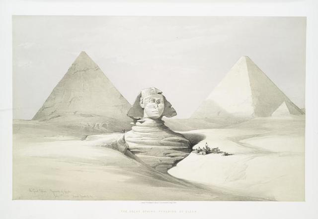 The Great Sphinx, Pyramids of Greezah