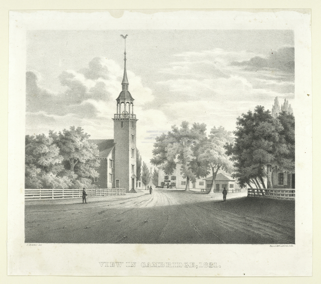 View in Cambridge, 1831.