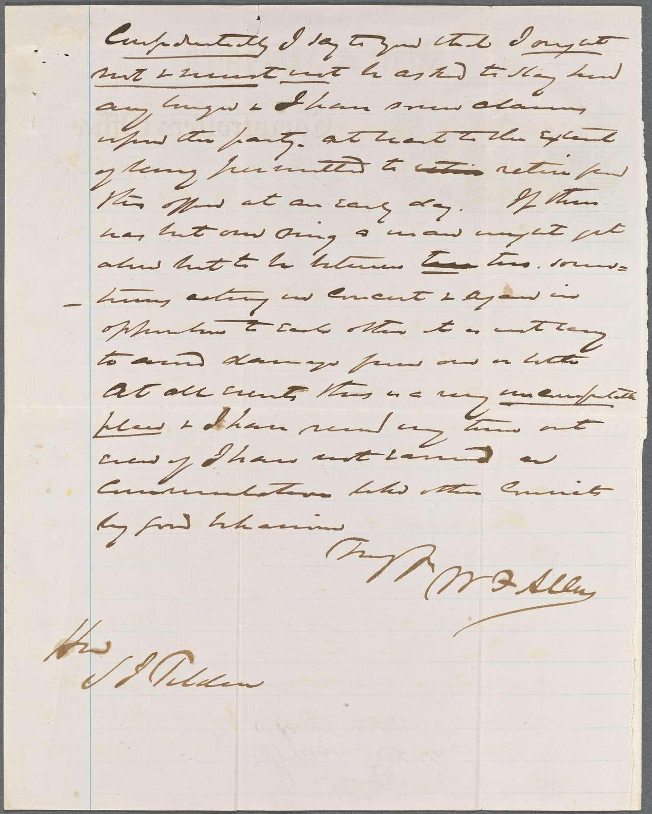 Allen, William F., 1849, 1864-1872