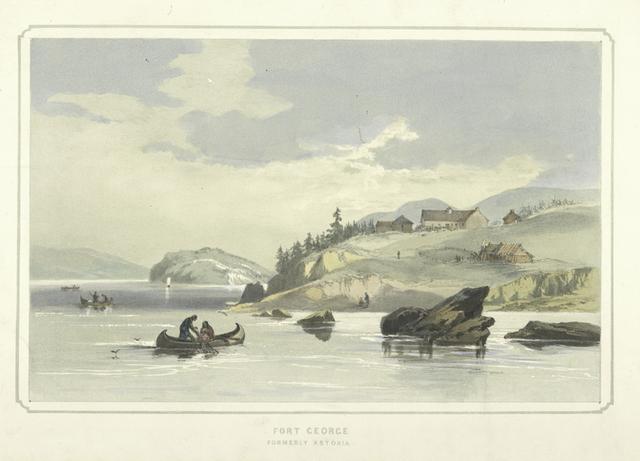 Fort George formerly Astoria [Oregon].