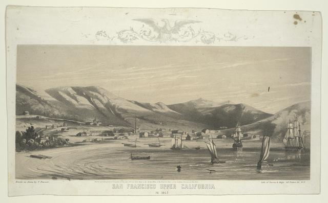 San Francisco upper California in 1847.