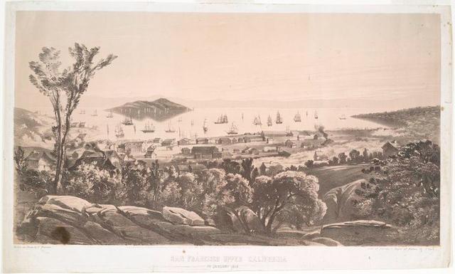 San Francisco upper California in January 1849.