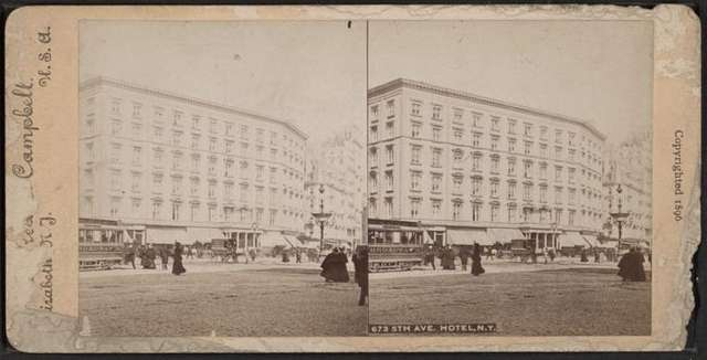 5th Avenue Hotel, N.Y.