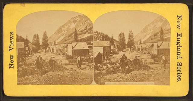 Alta City, Little Cottonwood Canyon, Utah.