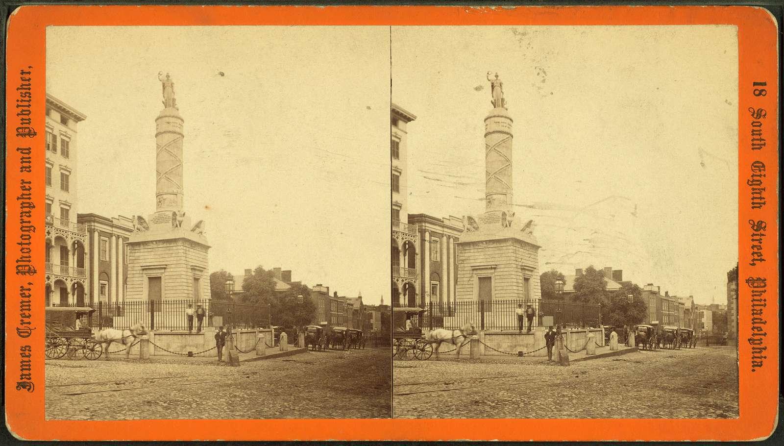 Battle Monument, Baltimore.