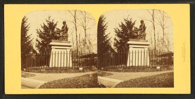 Bowditch statue, Mt. Auburn.