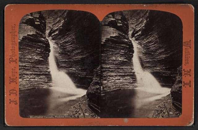Cathedral cascade, Watkins Glen, N.Y.