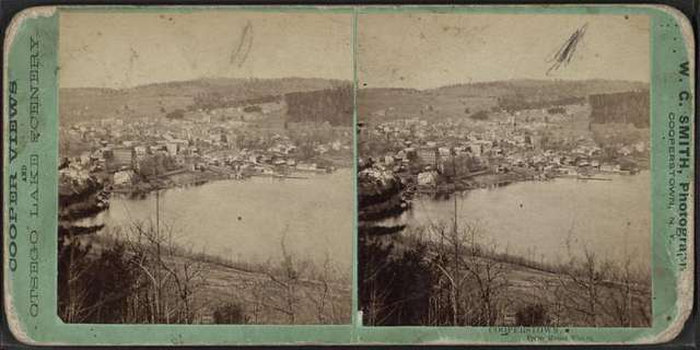 Cooperstown, from Mount Vision.