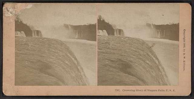 Crowning glory of Niagara Falls, U.S.A.