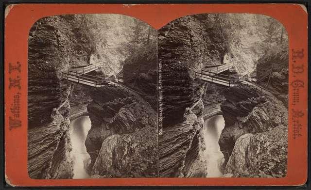 Entrance gorge, Watkins Glen.