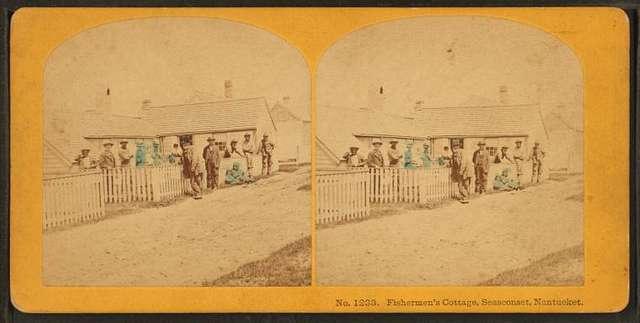 Fisherman's cottage, Siasconset, Nantucket.
