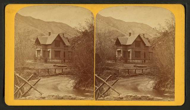 Grace Greenwood's cottage at Manitou, Col.