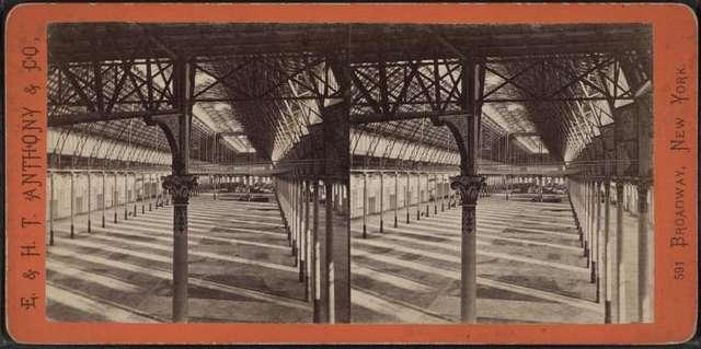 Interior of Manhattan Market.