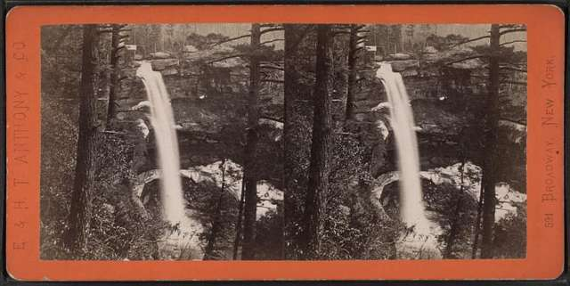 Kauterskill Fall, from the Staircase.