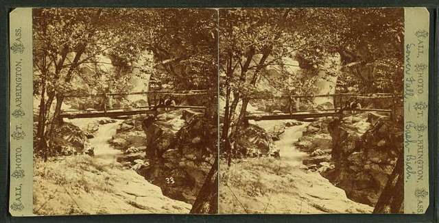 Lower falls at Bash Bish.