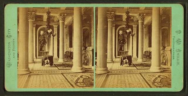 Marble Room, U.S. Capitol.