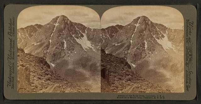 Mount of the Holy Cross, Colorado, U.S.A.