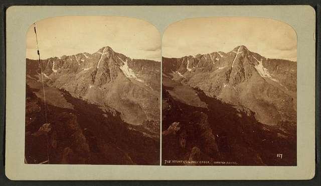 Mount of the Holy Cross. Sawatch Range.
