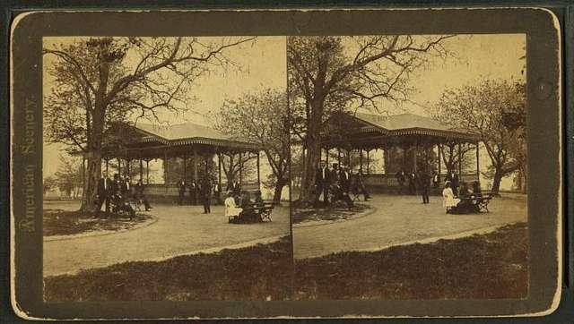 Music Pavillion, Druid Hill Park.