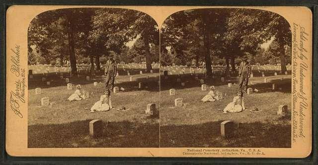 National Cemetery, Arlington, Va., U.S.A.