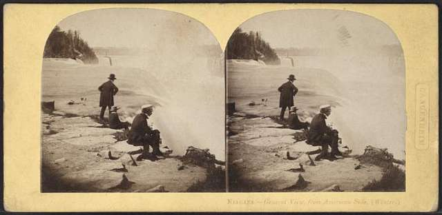 Niagara, general view from American side (winter).