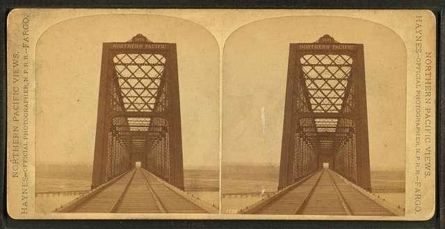 Northern Pacific Railway bridge.