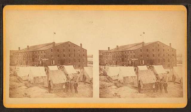 "Old ""Libby Prison"" building, Richmond, Va."