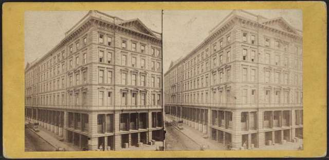 One of the great Dry Goods Store of New york, H.B. Claflin & Co.
