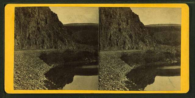 Palisades on the Humboldt river.