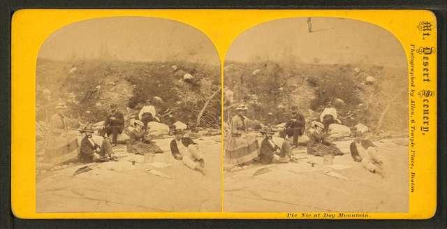 Pic Nic [picnic] at Dog Mountain.