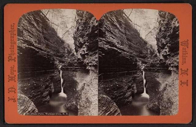 Pluto falls, Watkins Glen, N.Y.