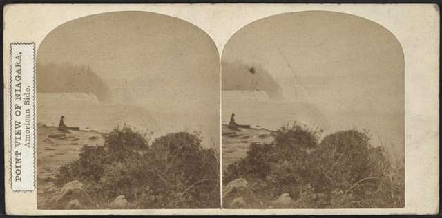 Point View of Niagara, American side.
