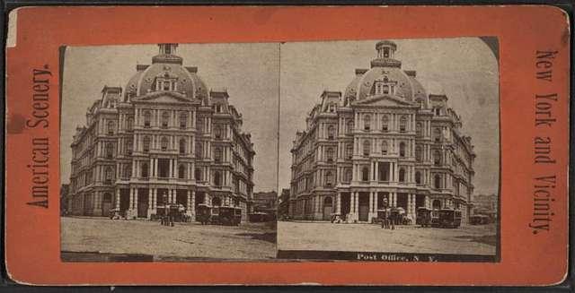 Post office, N.Y.