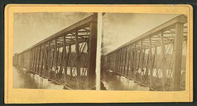 Railroad bridge, Mobile, Alabama.