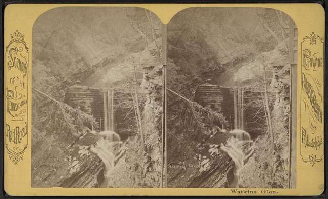Reservoir fall.