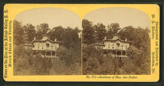 Residence of Hon. Asa Packer.