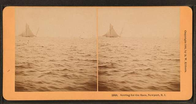 Scoring for the Race, Newport, R.I.