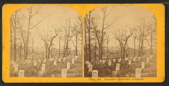 Soldiers' cemetery, Arlington.