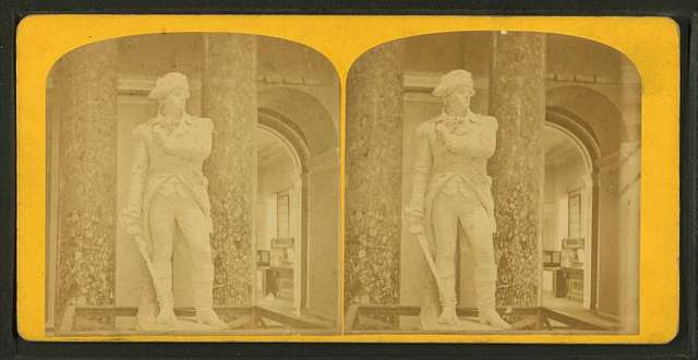 Statuary Hall. The Old Hall of Representatives. Vermont's contribution, Col. Ethan Allen by Lukin G. Mead.