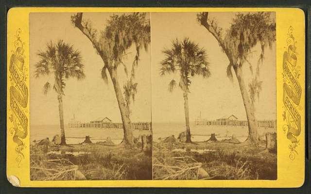 Steamboat landing, Sanford, Florida.