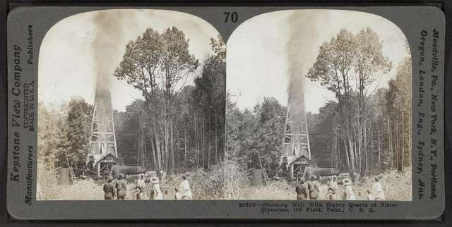 Stereoscopic views of the oil region of Pennsylvania and New York.