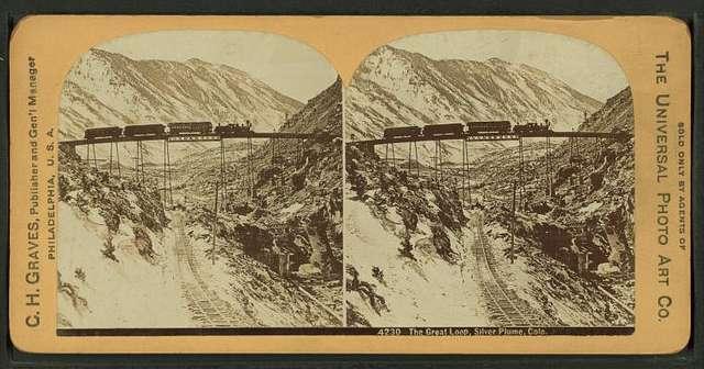 The Great Loop [near Georgetown], Silver Plume, Colorado.