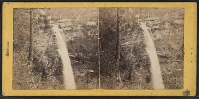 The Kauterskill Fall, near the Laurel House.