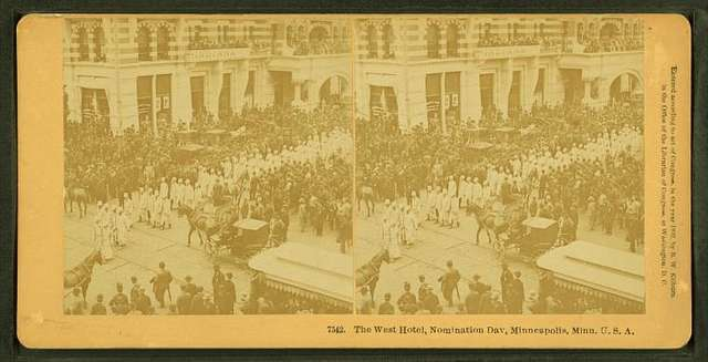 The West hotel, nomination day, Minneapolis, Minn. U.S.A.