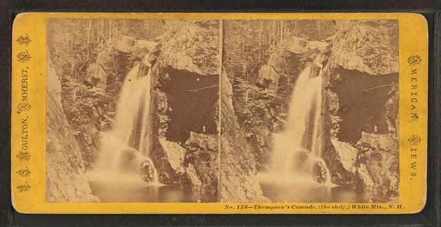 Thompson's Cascade, (the Shelf), White Mts. N.H.