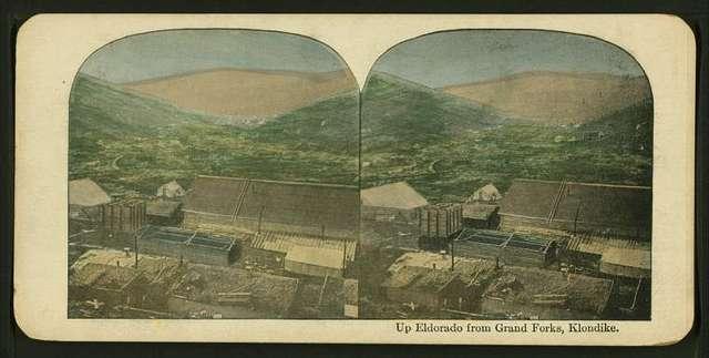 Up Eldorado from Grand Forks, Klondike.