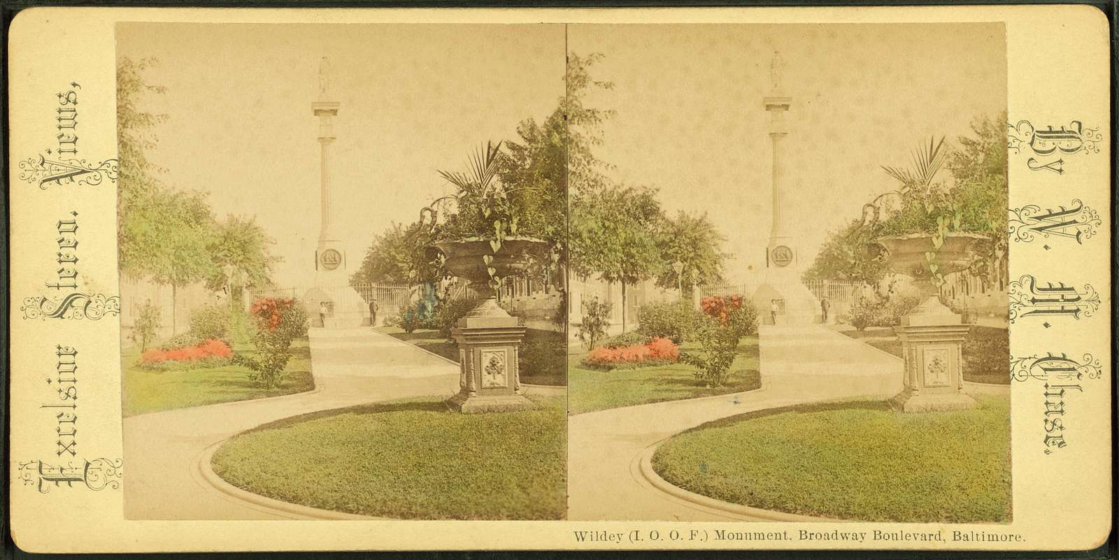 Wildey (I.O.O.F.) Monument. Broadway Bouleward, Baltimore.