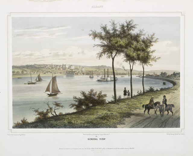 Albany.  General view.